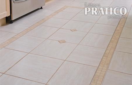 Comment poser carrelage imitation parquet comment poser for Baguette laiton carrelage