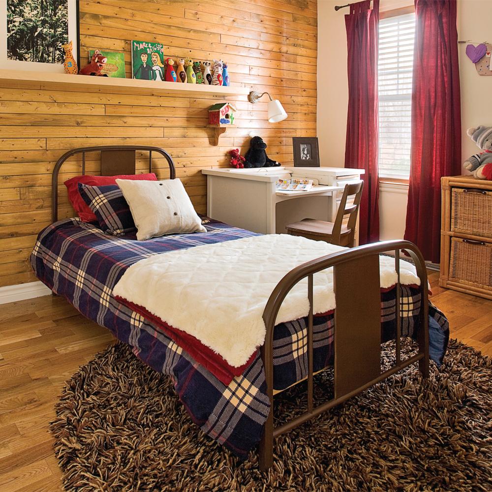 refuge de gar on chambre inspirations d coration et r novation pratico pratique. Black Bedroom Furniture Sets. Home Design Ideas