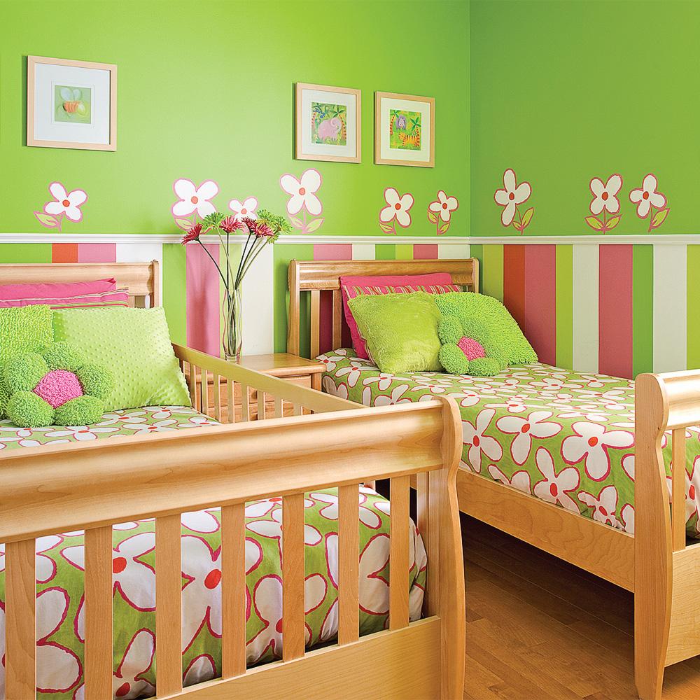 chambre la fine fleur chambre inspirations d coration et r novation pratico pratique. Black Bedroom Furniture Sets. Home Design Ideas
