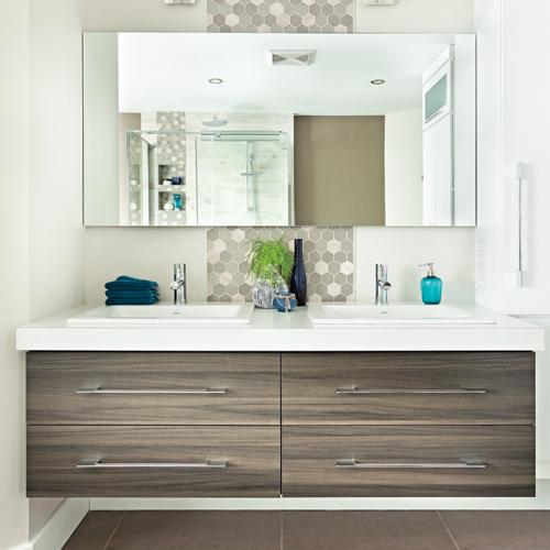 actualisation chic de la salle de bain je d core. Black Bedroom Furniture Sets. Home Design Ideas