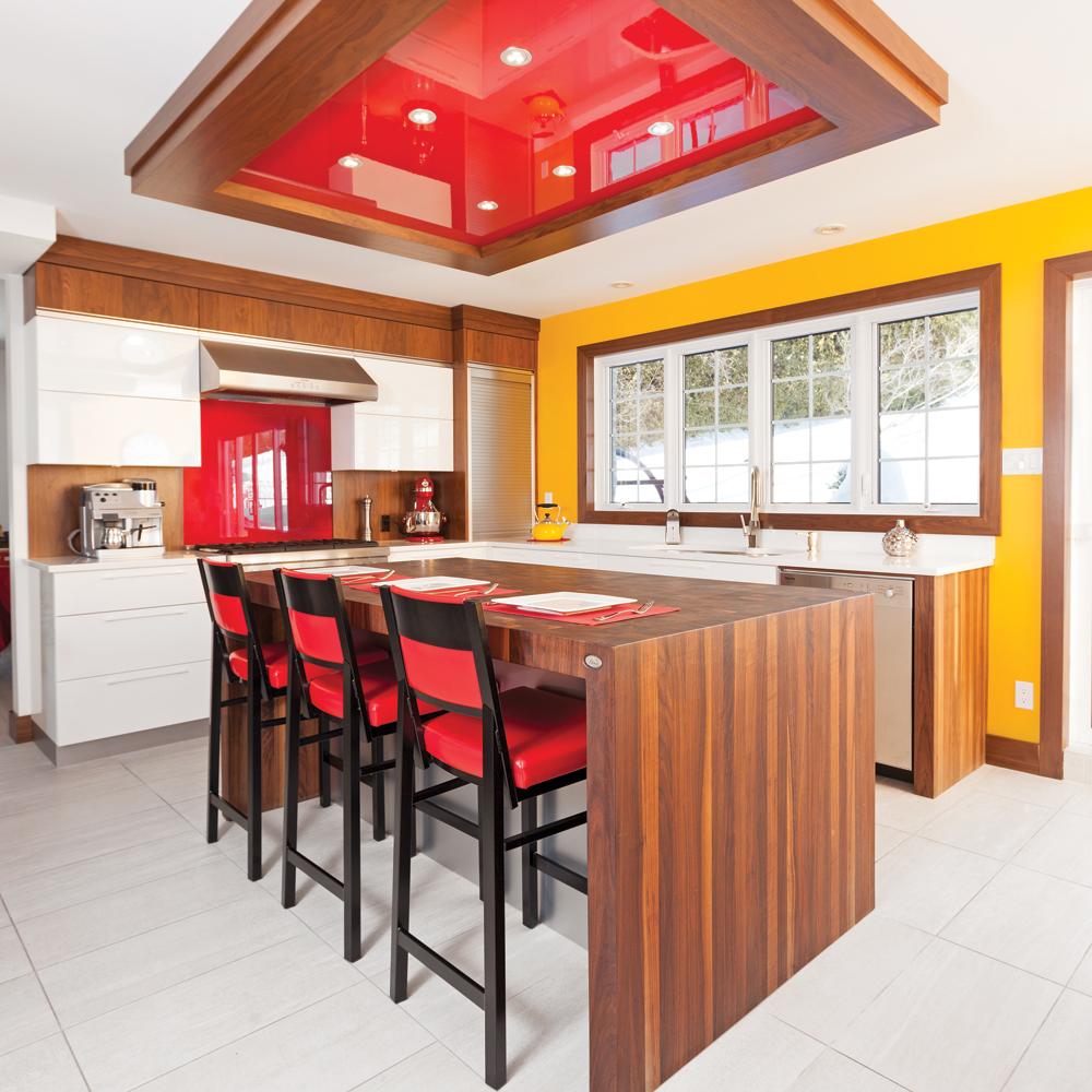 Une cuisine au d cor pimpant cuisine avant apr s for Decor de cuisine