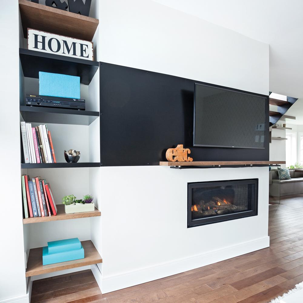 un coin t l optimis au max salon inspirations d coration et r novation pratico pratique. Black Bedroom Furniture Sets. Home Design Ideas
