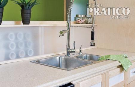 R aliser un dosseret pour le comptoir de cuisine plans for Deco cuisine dosseret