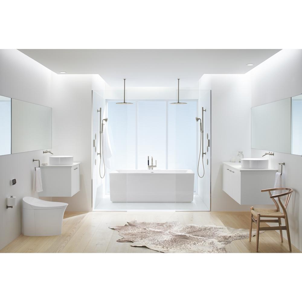 Salle De Bain Frise Douche ~ blanc sur blanc dans la salle de bain actualit s d coration et