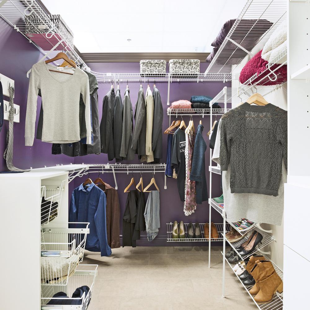 rangement 6 astuces de pro pour exploiter l 39 espace trucs et conseils d coration et. Black Bedroom Furniture Sets. Home Design Ideas