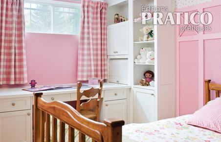 Romantique chambre pour fille chambre inspirations for Chambre fillette 8 ans
