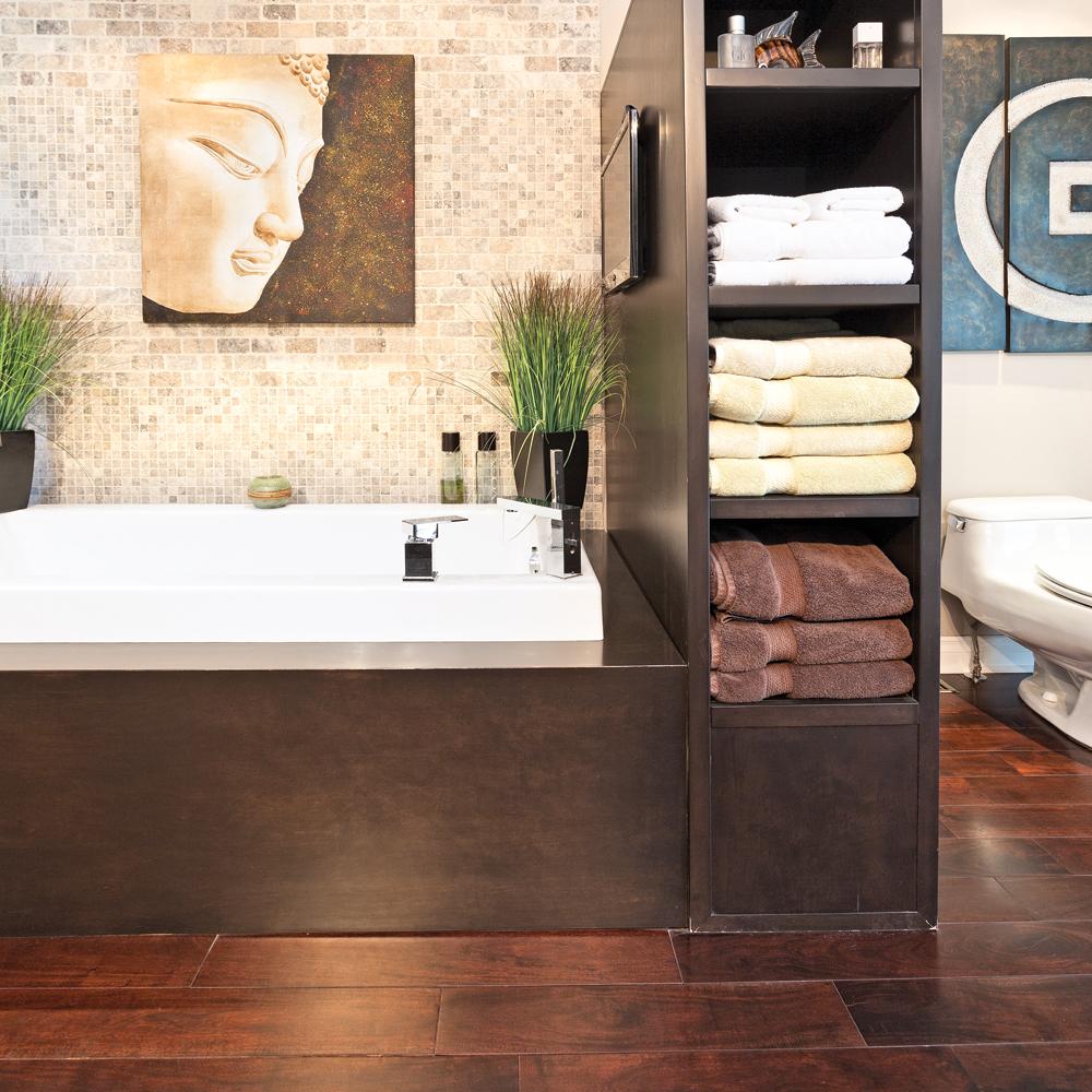 un meuble double fonction pour la salle de bain salle de bain inspirations d coration et. Black Bedroom Furniture Sets. Home Design Ideas