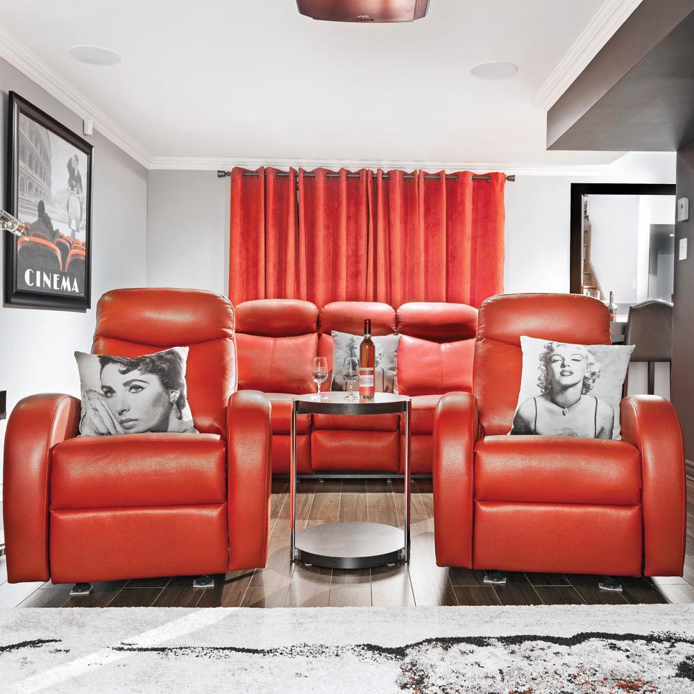salle de star urbaine au sous sol sous sol inspirations d coration et r novation pratico. Black Bedroom Furniture Sets. Home Design Ideas