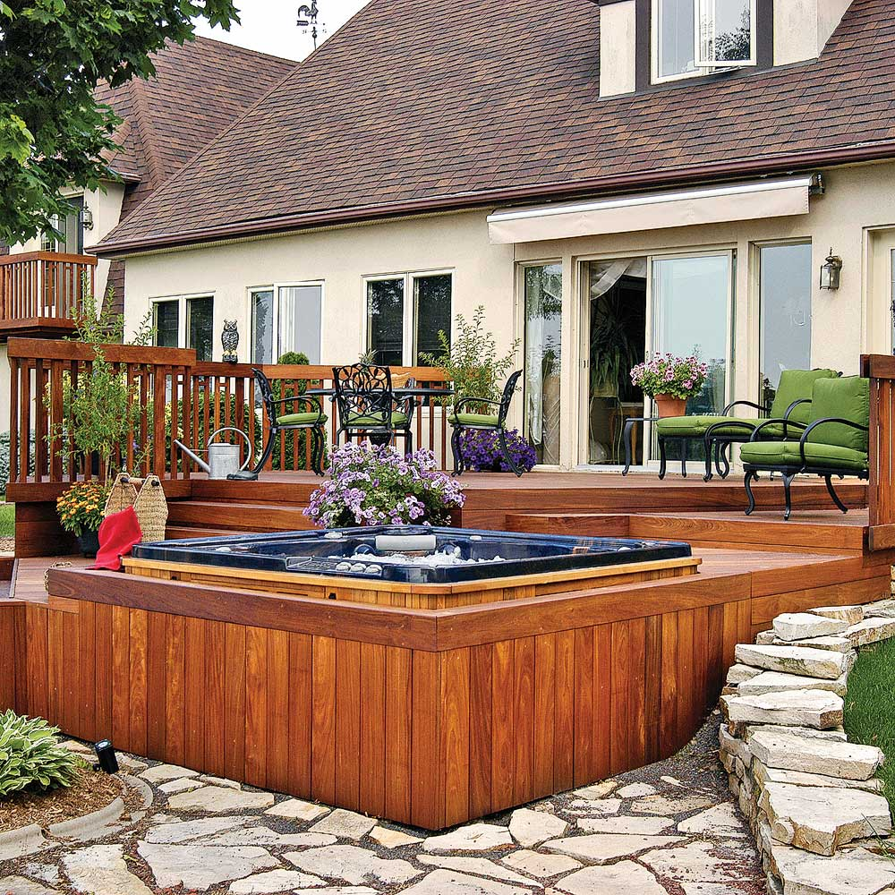 Patio d 39 une beaut intemporelle patio inspirations jardinage et ext - Idee patio exterieur ...
