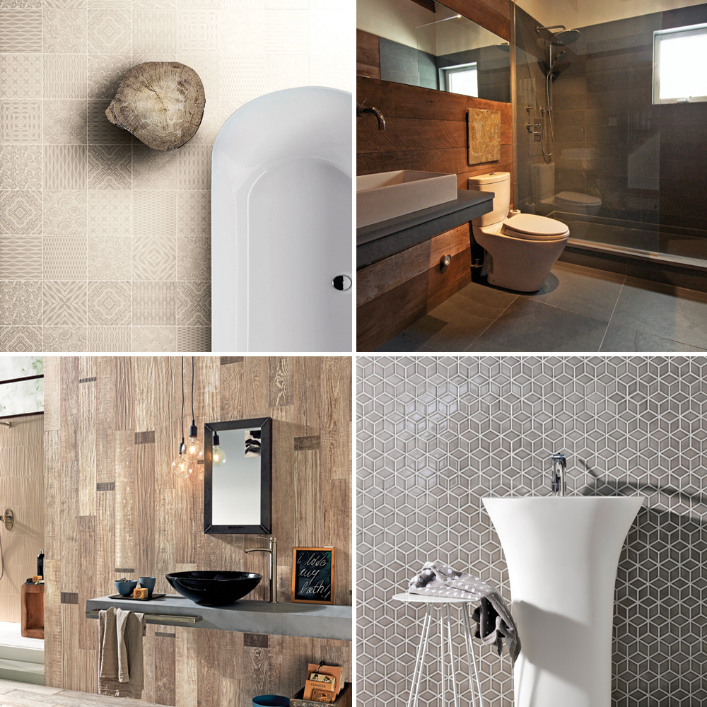 salle de bain les tendances c ramique trucs et conseils d coration et r novation pratico. Black Bedroom Furniture Sets. Home Design Ideas
