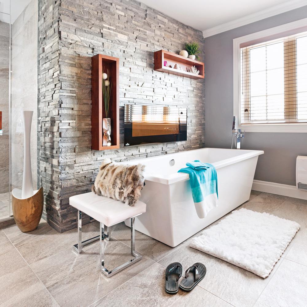 noble ardoise dans la salle de bain salle de bain inspirations d coration et r novation. Black Bedroom Furniture Sets. Home Design Ideas