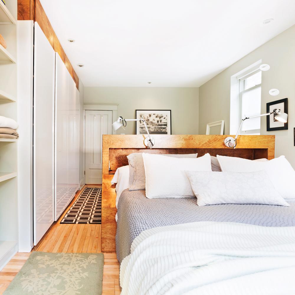 une division bien pens e pour la chambre chambre inspirations d coration et r novation. Black Bedroom Furniture Sets. Home Design Ideas