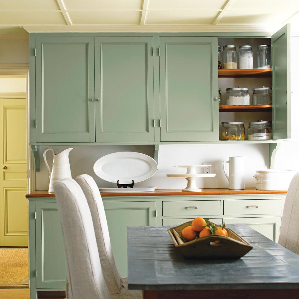 vert l 39 horizon cuisine inspirations d coration et r novation pratico pratique. Black Bedroom Furniture Sets. Home Design Ideas