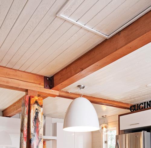 fausse poutre d corative design d 39 int rieur et inspiration de mobilier. Black Bedroom Furniture Sets. Home Design Ideas