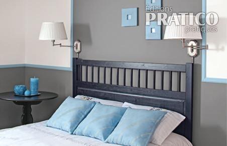 Simple chambre en gris - Chambre - Inspirations - Décoration et ...