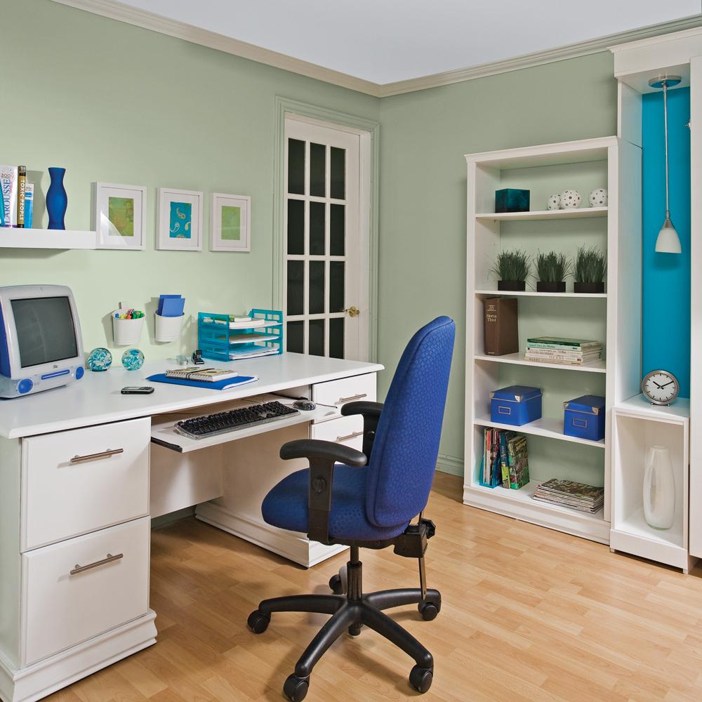 un bureau inspirant bureau inspirations d coration et r novation pratico pratique. Black Bedroom Furniture Sets. Home Design Ideas