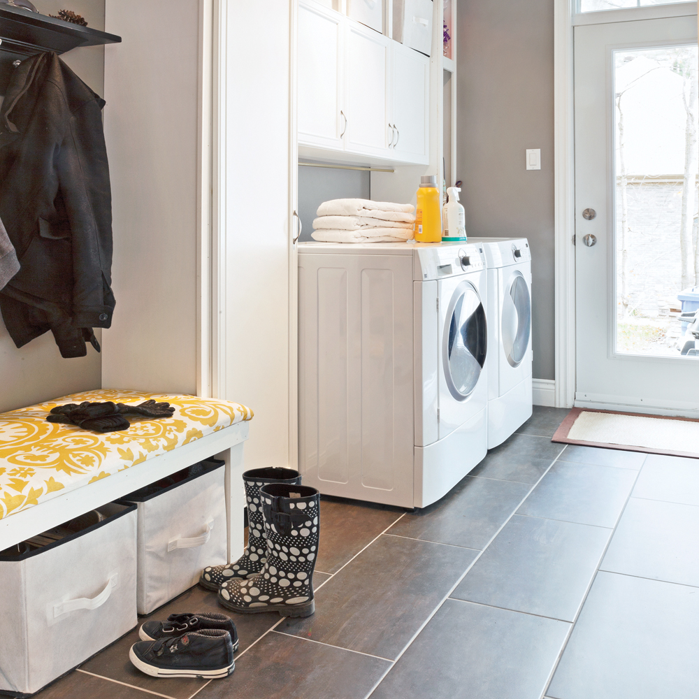 salle de lavage comme zone de transition salle de bain. Black Bedroom Furniture Sets. Home Design Ideas