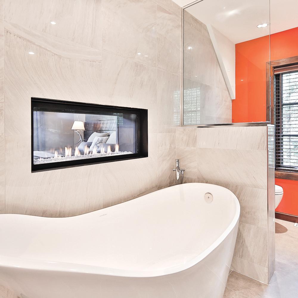 Salle De Bain Et Eau ~ duo feu et eau dans la salle de bain salle de bain inspirations