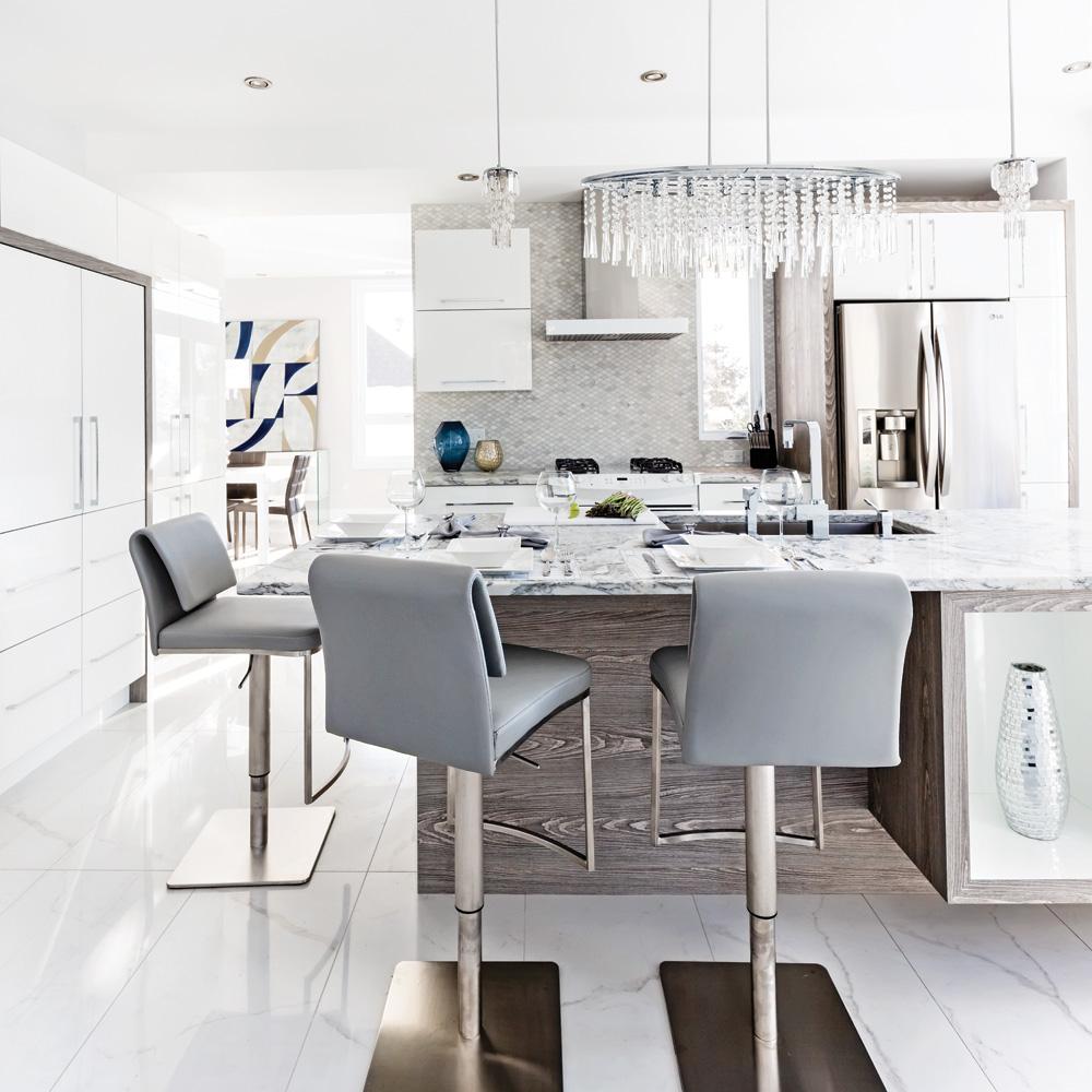 du luxe l 39 tat brut pour la cuisine cuisine. Black Bedroom Furniture Sets. Home Design Ideas