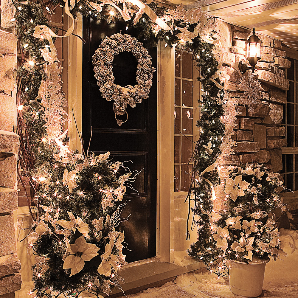 Un d cor de no l givr pour l 39 ext rieur inspirations for Decoration noel exterieur d occasion