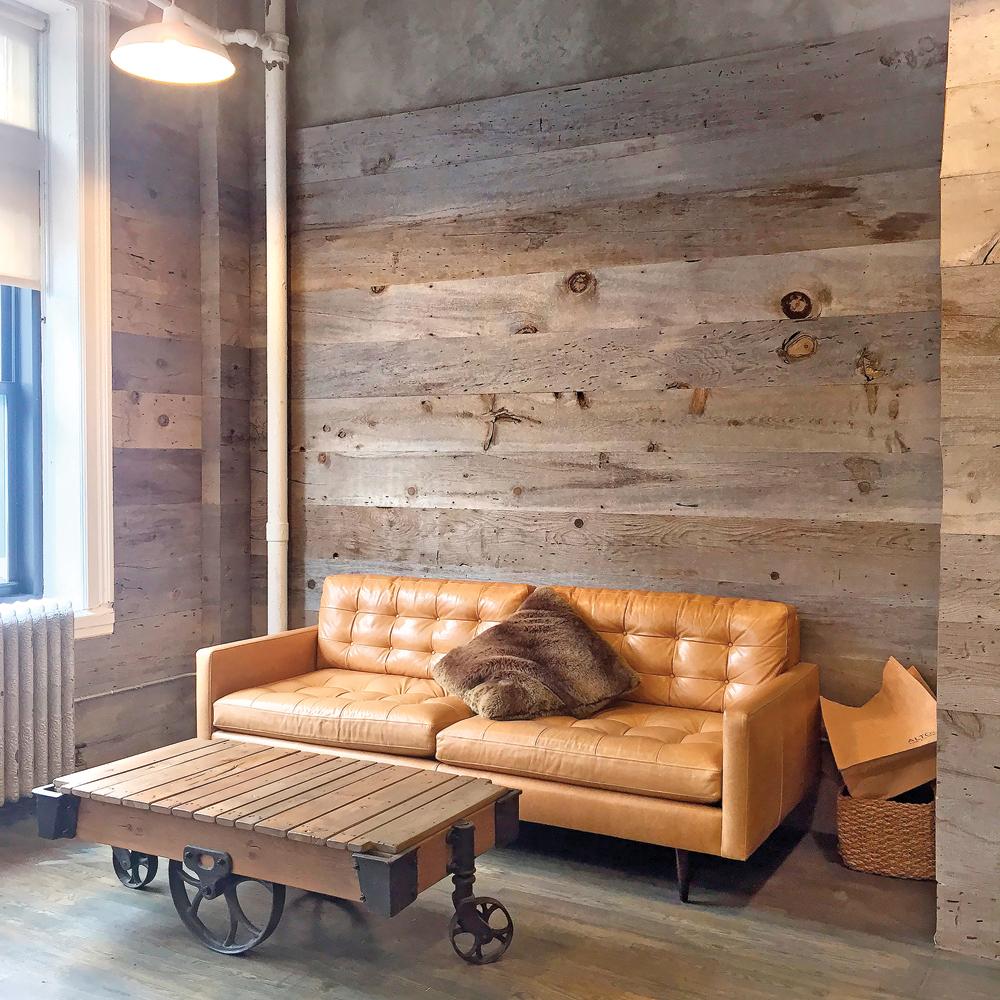 table de salon en bois de grange agrandir with table de salon en bois de grange bois de grange. Black Bedroom Furniture Sets. Home Design Ideas