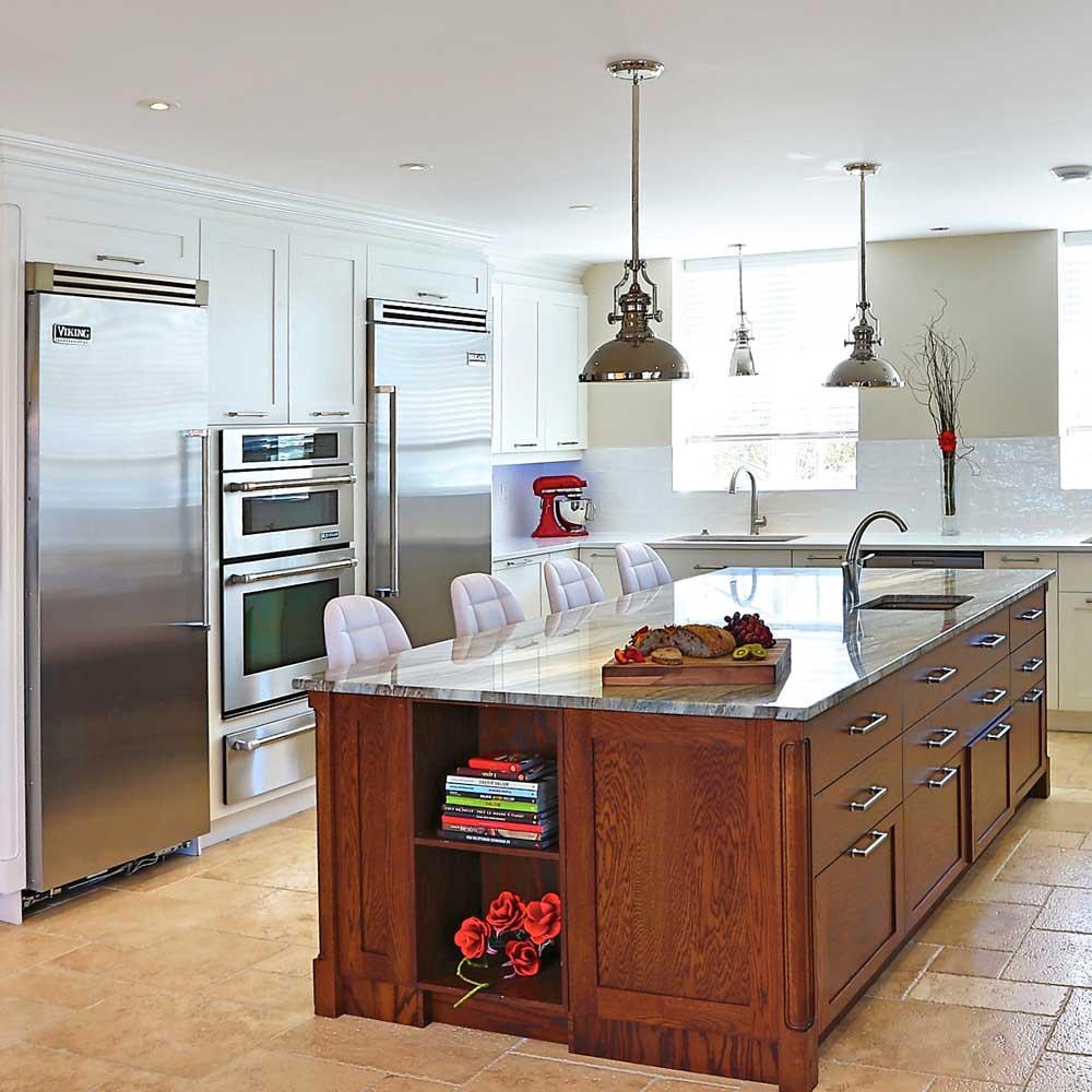 Cuisine contemporaine et luxueuse cuisine inspirations - Decoration cuisine contemporaine ...