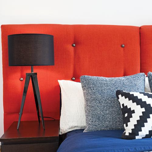 une t te de lit 100 punch e je d core. Black Bedroom Furniture Sets. Home Design Ideas