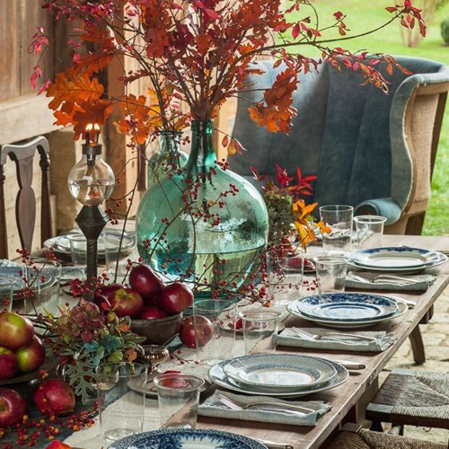 25 tables d 39 automne pour f ter l 39 action de gr ce en beaut je d core. Black Bedroom Furniture Sets. Home Design Ideas