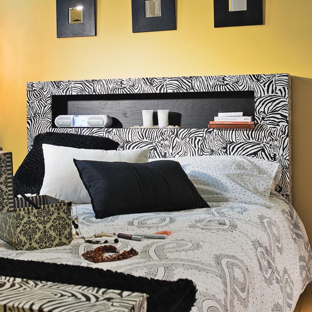 Fabriquer un lit z br de la t te au pied en tapes d coration et r novation pratico pratique - Tetes et pieds de lit ...