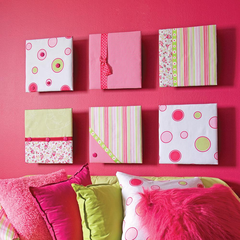 cr ations ludiques en tissu en tapes d coration et r novation pratico pratique. Black Bedroom Furniture Sets. Home Design Ideas