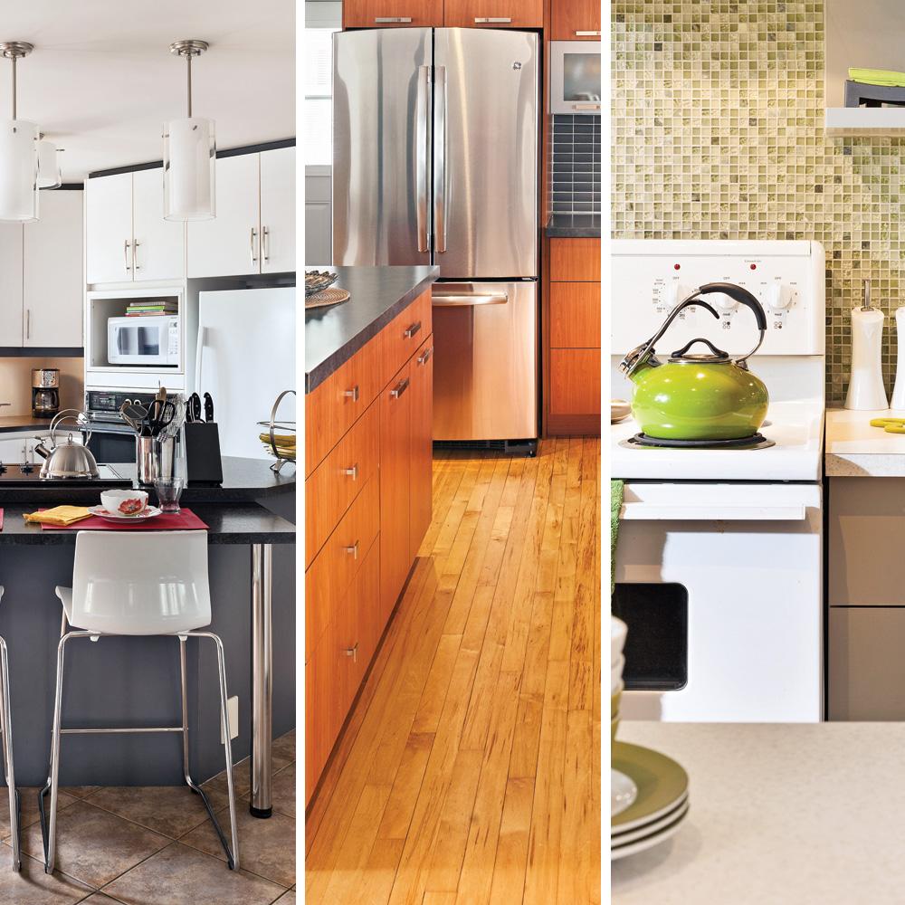 3 cuisines rénovées pour moins de 5 000$ - Trucs et conseils ...
