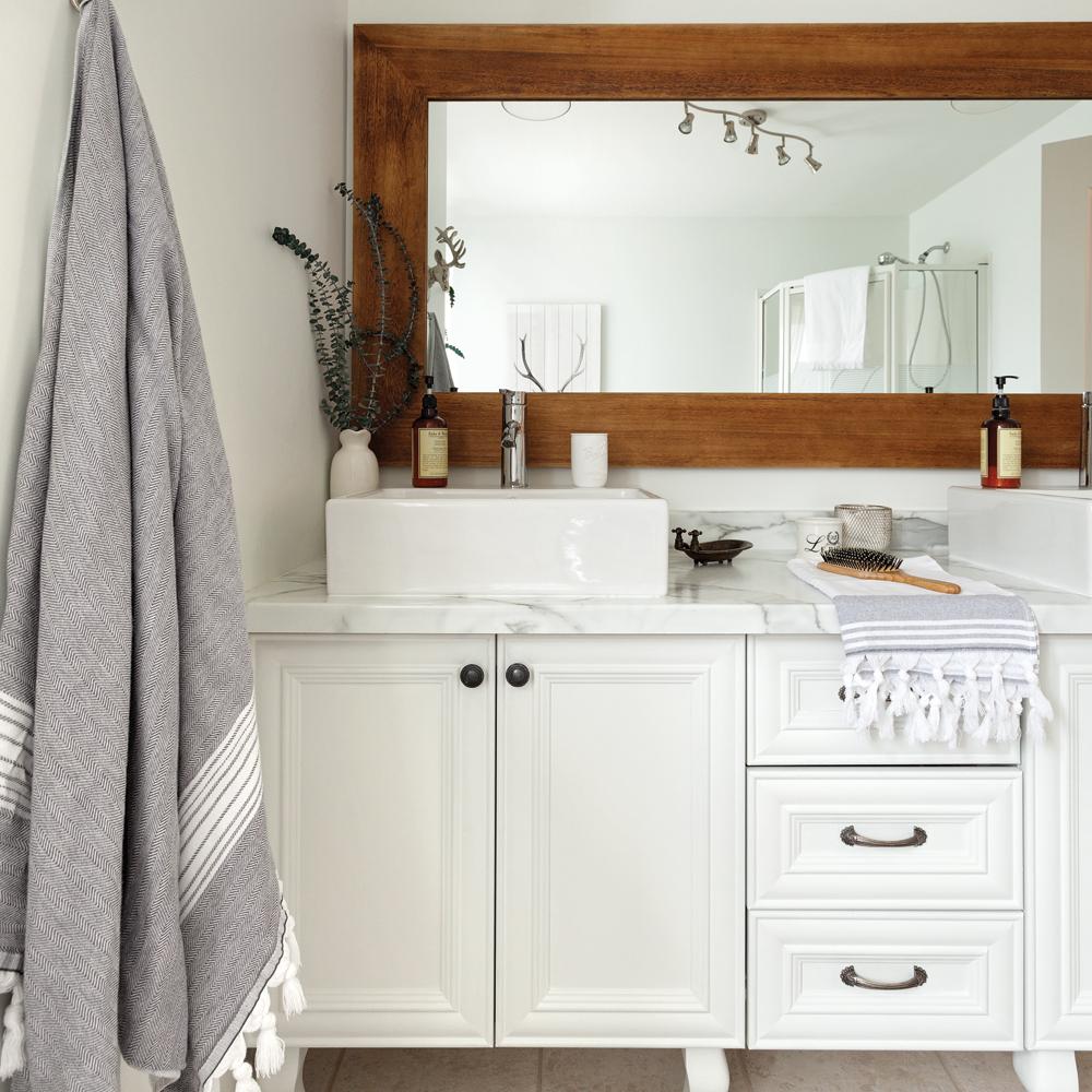 Salle de bain de style farmhouse je d core - Je decore salle de bain ...