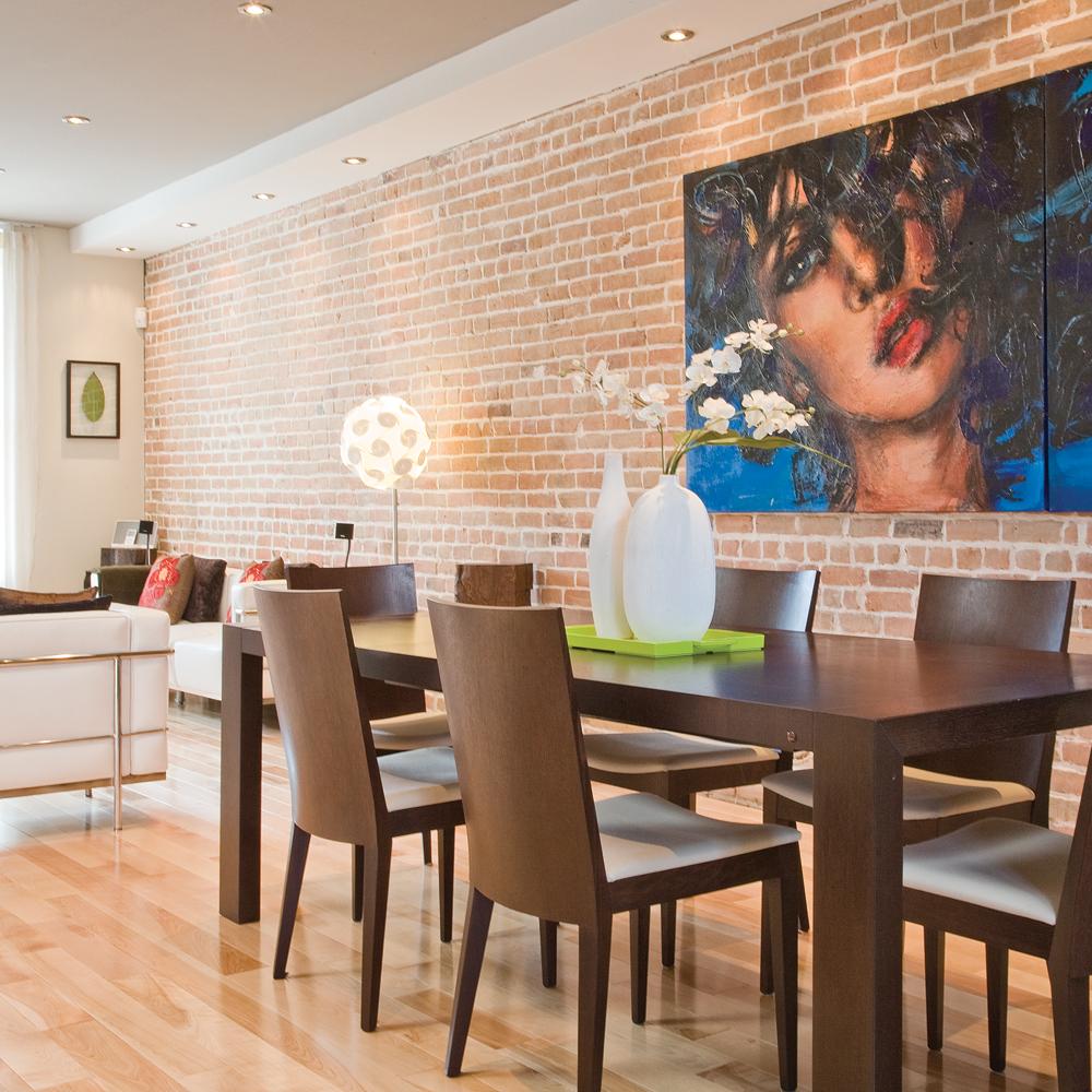 int grer l 39 art dans la salle manger salle manger inspirations d coration et r novation. Black Bedroom Furniture Sets. Home Design Ideas