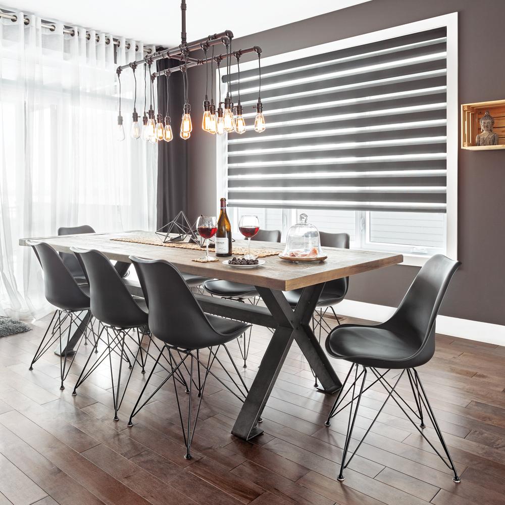 Salle manger 100 industrielle salle manger inspirations d coration et r novation - Deco salle a manger industrielle ...