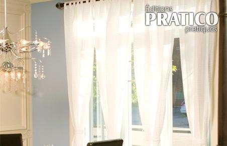 Bien choisir ses rideaux trucs et conseils d coration for Rideau pour porte patio cuisine