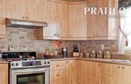 Cuisine relook e en toute simplicit cuisine avant apr s d coration et r novation - Cuisine relookee avant apres ...