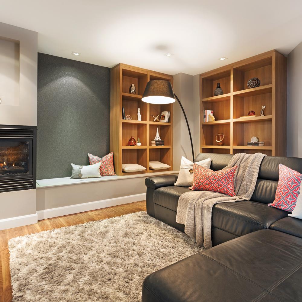 un sous sol parfaitement douillet sous sol. Black Bedroom Furniture Sets. Home Design Ideas