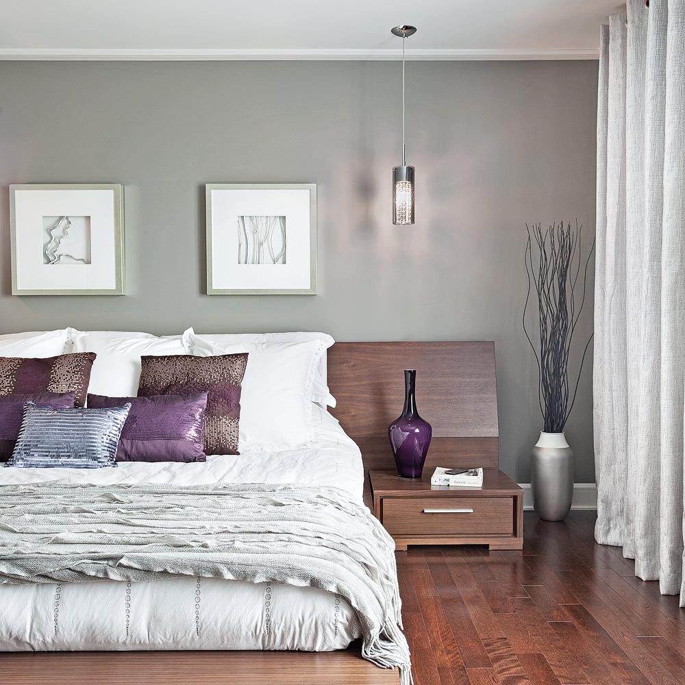 Gris intime pour la chambre - Chambre - Inspirations - Décoration ...