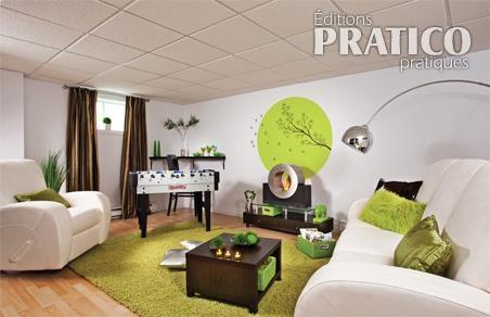 Cr er une salle familiale au sous sol sous sol avant for Decoration fenetre de sous sol