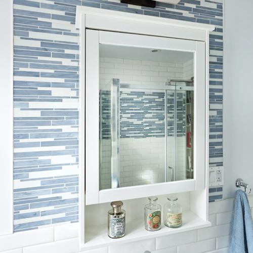clin d 39 oeil aux fifties dans la salle de bain je d core. Black Bedroom Furniture Sets. Home Design Ideas