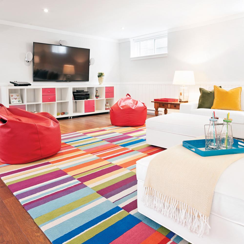 un sous sol qui donne l 39 effet d 39 une oeuvre d 39 art sous sol avant apr s d coration et. Black Bedroom Furniture Sets. Home Design Ideas