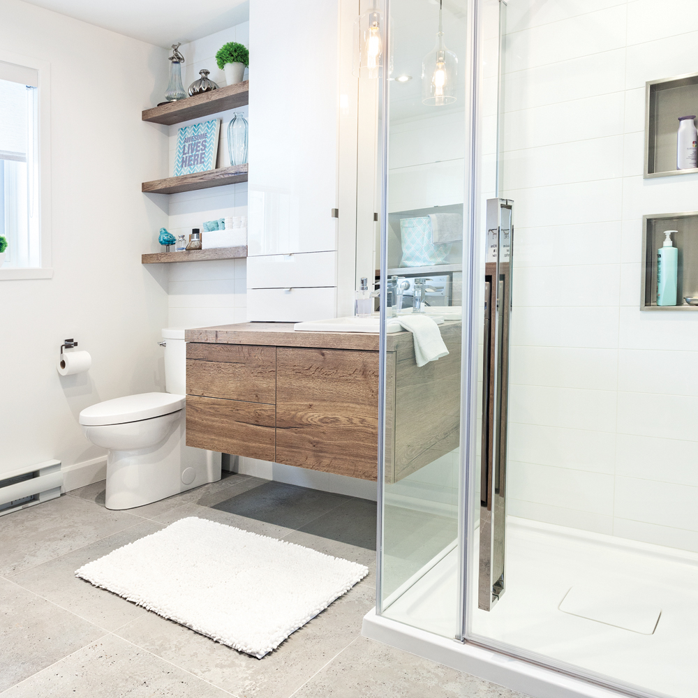 Deboucher Salle De Bain Bicarbonate ~ transfo payante la salle de bain salle de bain avant apr s