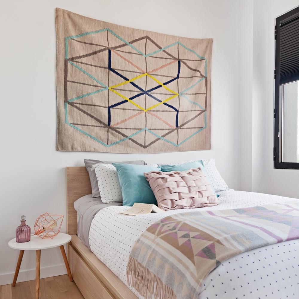 t te de lit au look boh me chambre inspirations d coration et r novation pratico pratique. Black Bedroom Furniture Sets. Home Design Ideas