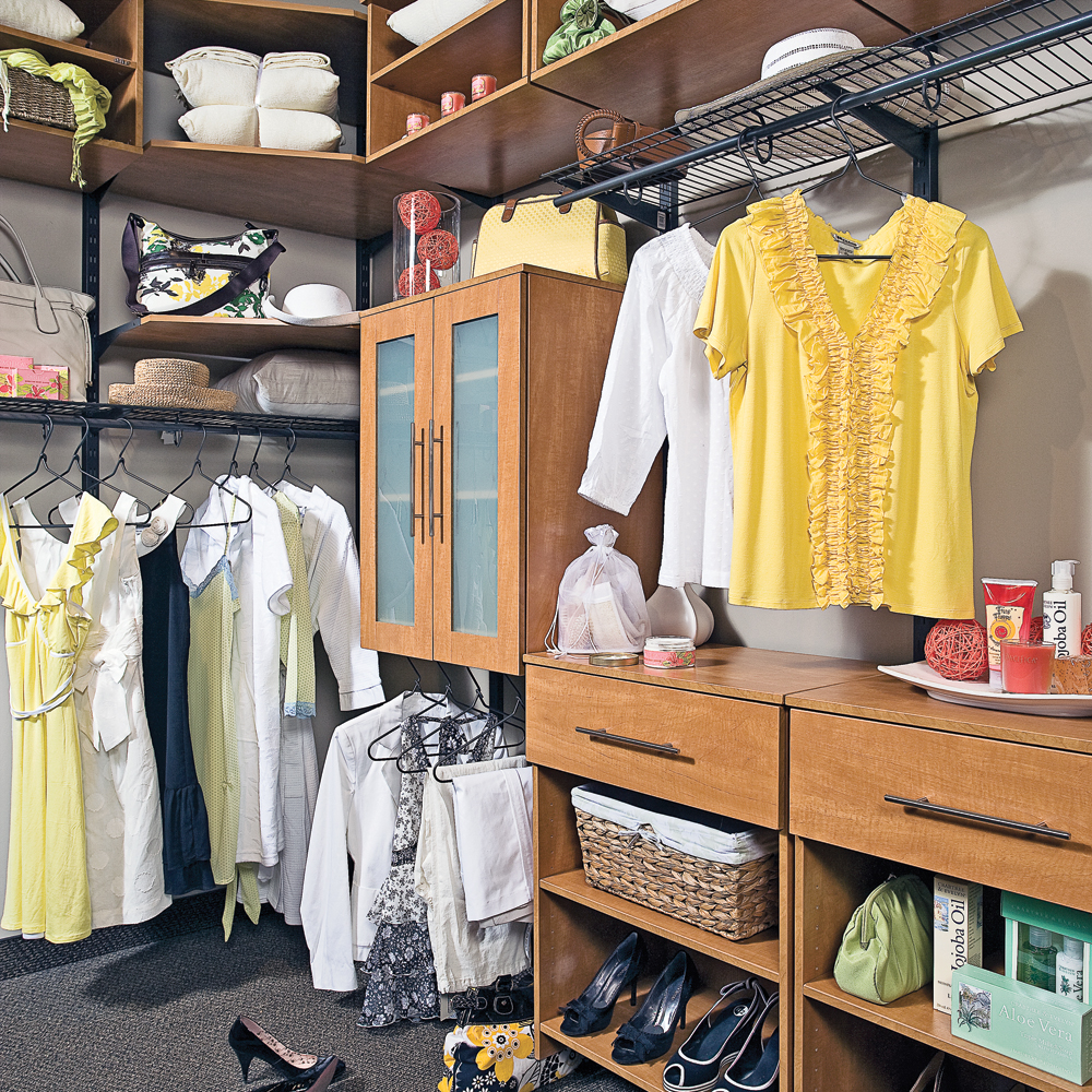 Un walk in confortable et abordable chambre for Chambre walk in