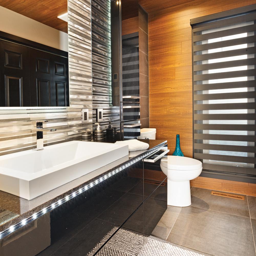 Une salle de bain au design branch salle de bain - Je decore salle de bain ...