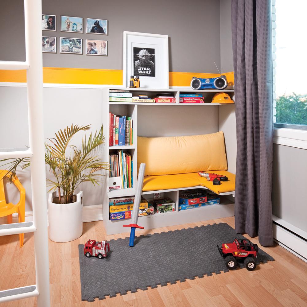 Banquette pour chambre stunning banc moderne pour chambre enfant design football with banquette - Banc coffre chambre adulte ...