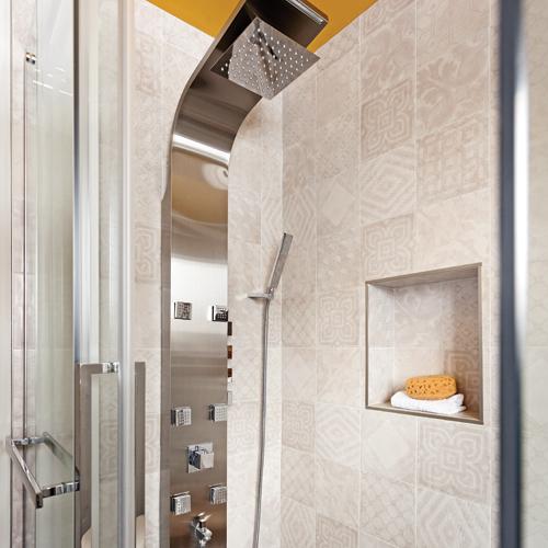Zone de caract re pour la salle de bain salle de bain inspirations d coration et - Zone salle de bain ...