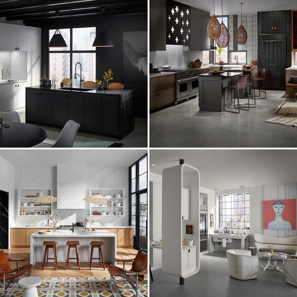 d co les 5 tendances de l 39 heure en 5 cuisines de r ve trucs et conseils d coration et. Black Bedroom Furniture Sets. Home Design Ideas