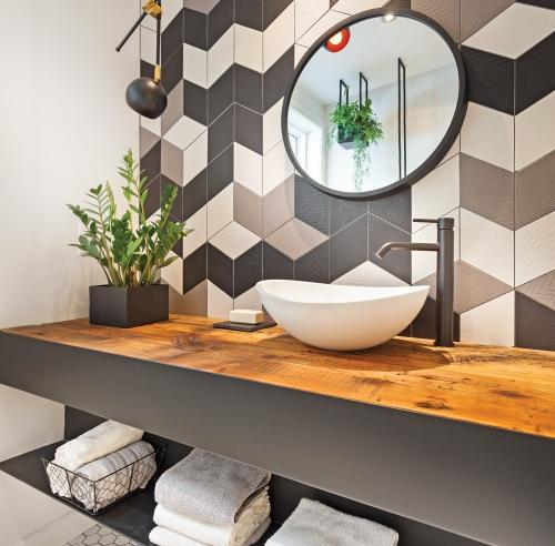 D coration et r novation pratico pratiques for Meuble lavabo sur mesure