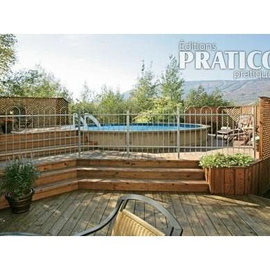 Construire un deck de piscine angles plans et patrons for Deck piscine bois